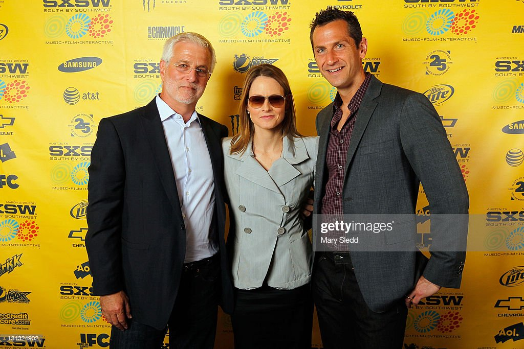 CEO Summit Entertainment Rob Friedman director/actress Jodie Foster and President of Production/Acquisitions Summit Entertainment Erik Feig attend...