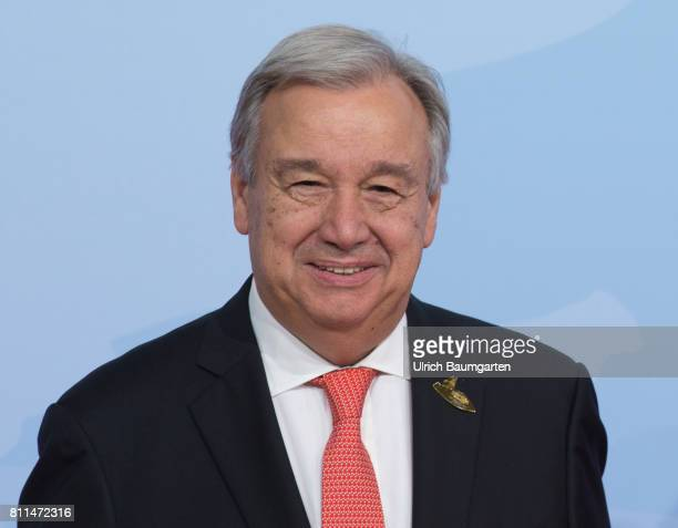 G20 summit in Hamburg Antonio Guterres SecretaryGeneral of the United Nations