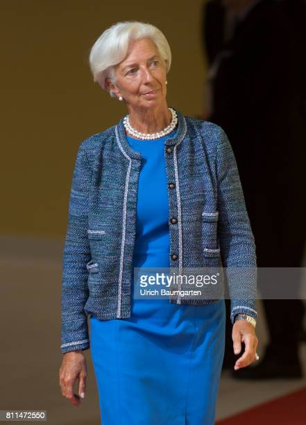 G20 summit in Hamburg Christine Lagarde Managing Director of the Internatioal Monetary Fund