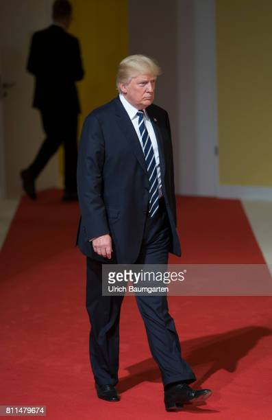 G20 summit in Hamburg Donald Trump President of the United States of America