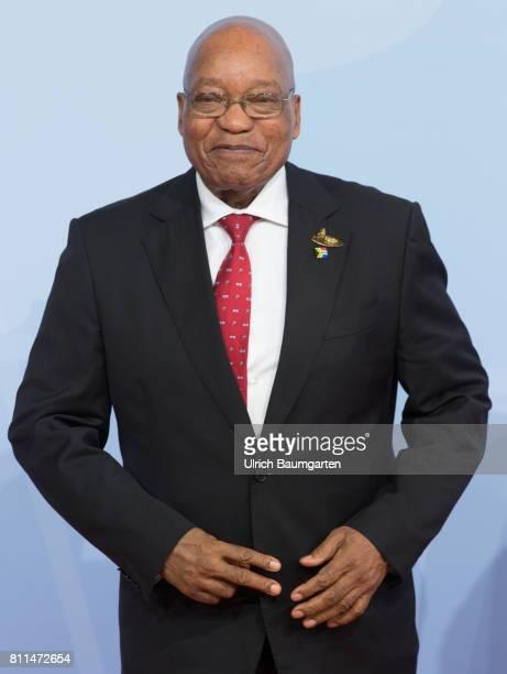 G20 summit in Hamburg Jacob Zuma President of South Africa
