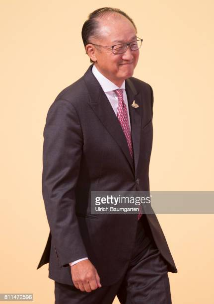 G20 summit in Hamburg Jim Yong Kim President of the World Bank
