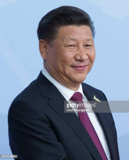 G20 summit in Hamburg Xi Jinping President of the Peoples Republic of China