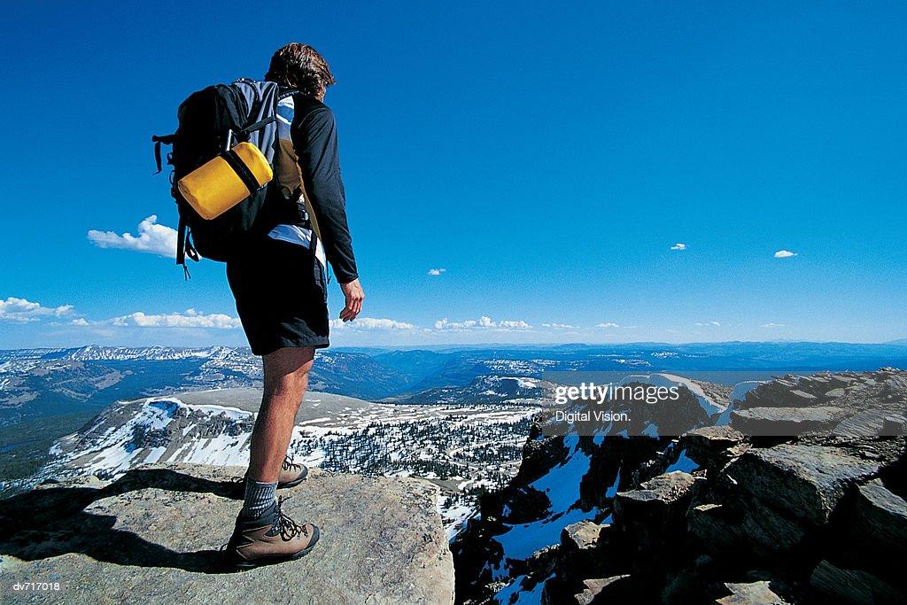 Summit of Bald Mountain, Uinta Mountains, Utah, USA : Stock Photo