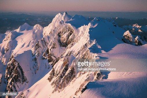 Summit of Mount Olympus, Olympic Mountain Range, Washington, USA