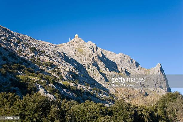 Summit of Puig Major, from near Soller.