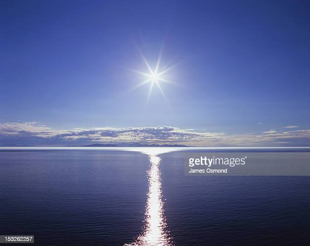 Sun and Calm Sea