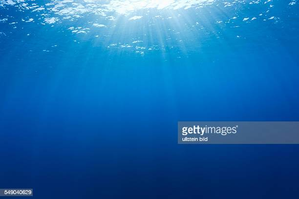 Sun Beams diffuse Ocean Micronesia Palau