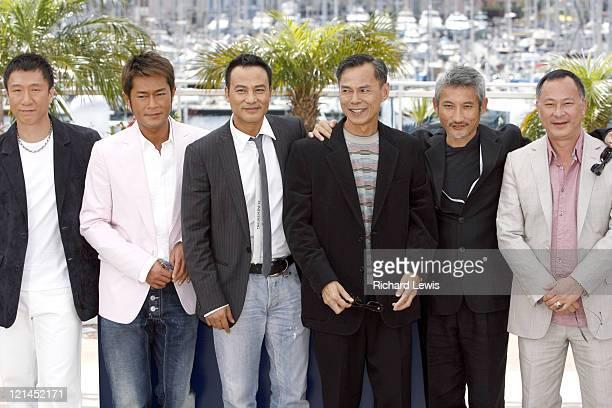 Sun Hong Lei Louis Koo Simon Yam and directors Ringo Lam Tsui Hark and Johnnie To