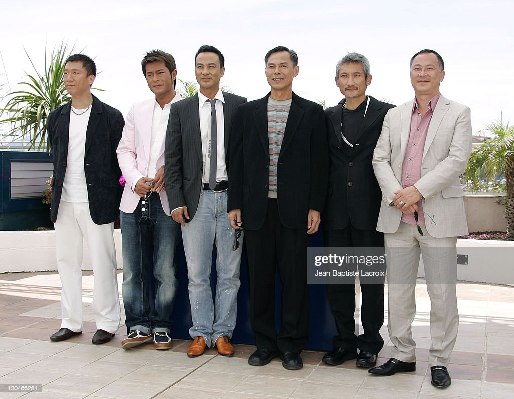 Sun Hong Lei, Louis Koo, Simon Yam and directors Ringo Lam, Tsui Hark and Johnnie To