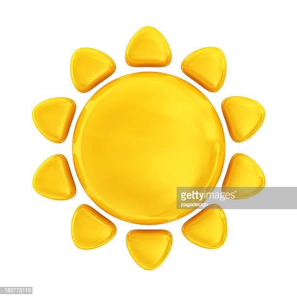 Icône de soleil