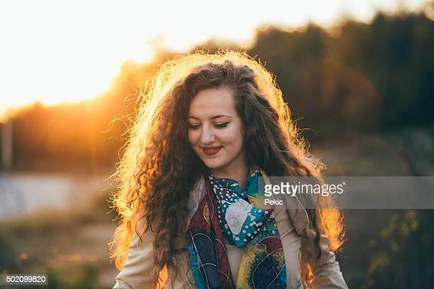 Sun in my hair!
