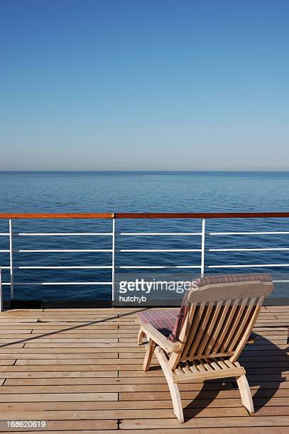 Sun Lounger on a Cruise Ship