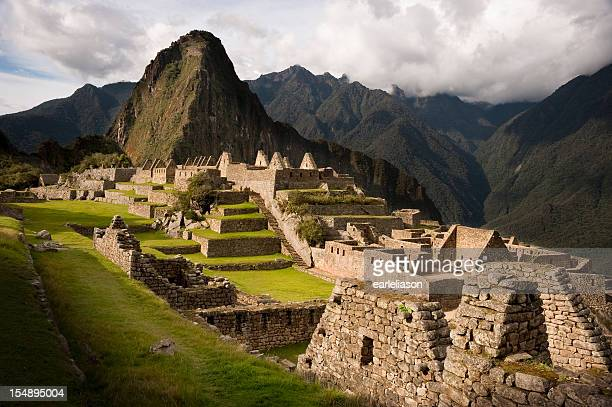 Sun on Machu Picchu