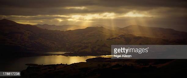 Sun Rays in Akaroa