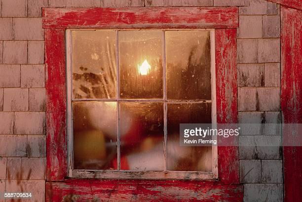 Sun Reflecting in Window