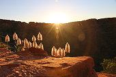 Stunning light at during sun rise at King's Canyon, october 2016