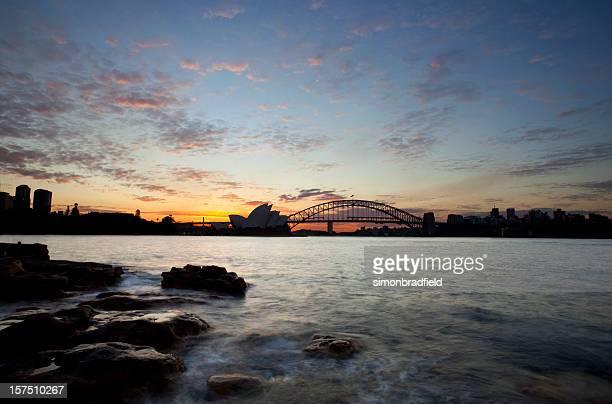 Sun Sets On Sydney