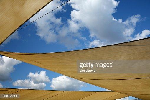 Sun shade sails