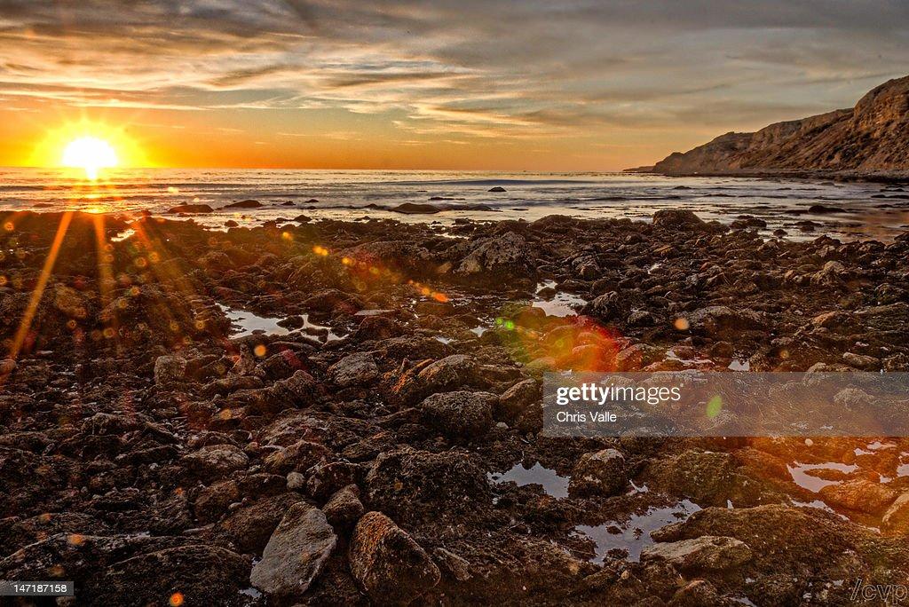 Sun splash : Stock Photo