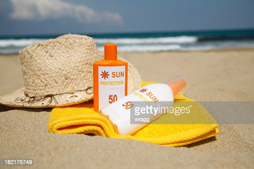 Sun Cream Stock Photos And Pictures Getty Images