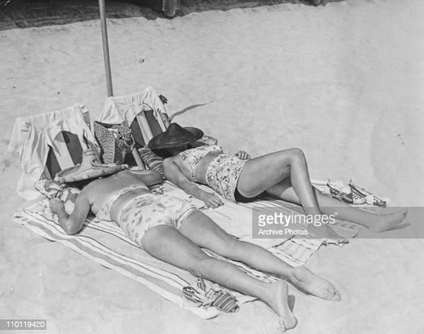 Sunbathers at Jones Beach New York 1941