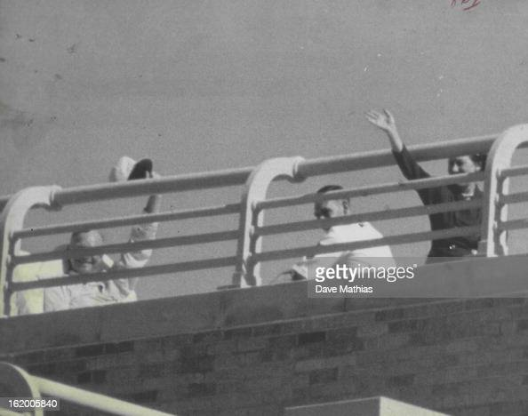 Oct 13 1955 sunbathing on fitzsimons army hospital 39 s 8th for Balcony sunbathing