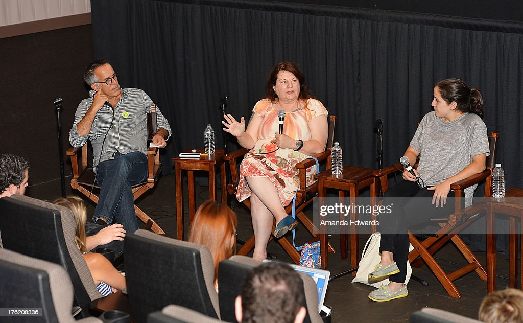 Sundance Film Festival Director John Cooper and filmmakers Allison Anders and Hannah Fidell attend the NEXT WEEKEND Presented By Sundance Institute -