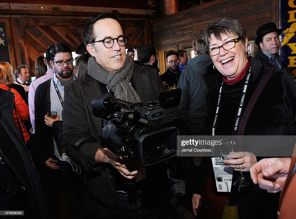 Sundance Film Festival Director John Cooper and Rhea Gavry attend the Alfred P. Sloan Foundation Reception & Prize Announcement during the 2012 Sundance Film Festival on January 27, 2012 in Park City, Utah.