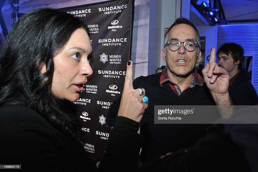 Sundance Film Festival Director John Cooper attends the Sundance Institute Mahindra Global Filmmaking Award Reception at Sundance House on January 22, 2013 in Park City, Utah.