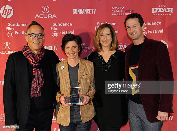 Sundance Film Festival Director John Cooper host Tig Notaro Sundance Institute Executive Director Keri Putnam and Sundance Film Festival Director of...