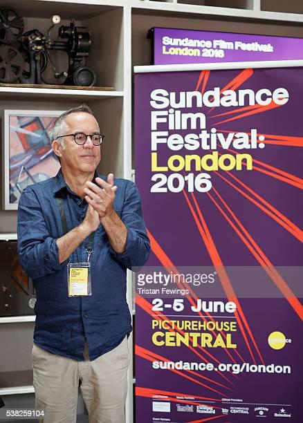 Sundance Film Festival Director John Cooper speaks at the Filmmakers Brunch during the Sundance Film Festival London 2016 at Picturehouse Central on...