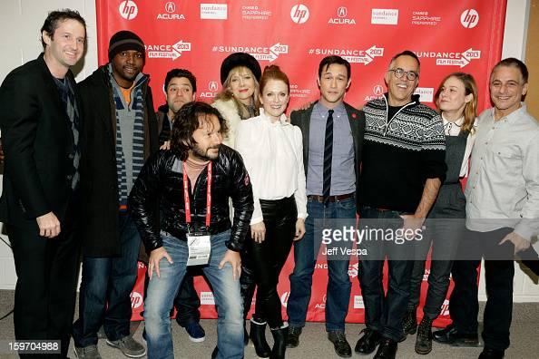Sundance Film Festival Director of Programming Trevor Groth actors Rob Brown and Jeremy Luke producer Ram Bergman actors Glenne Headly and Julianne...