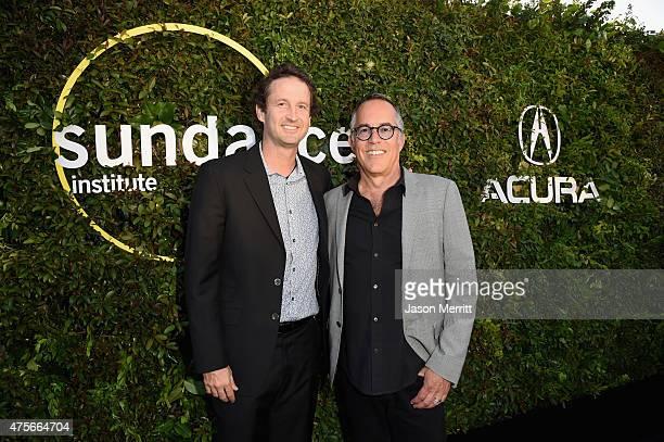 Sundance Film Festival Director of Programming Trevor Groth and festival director John Cooper attend the 2015 Sundance Institute Celebration Benefit...