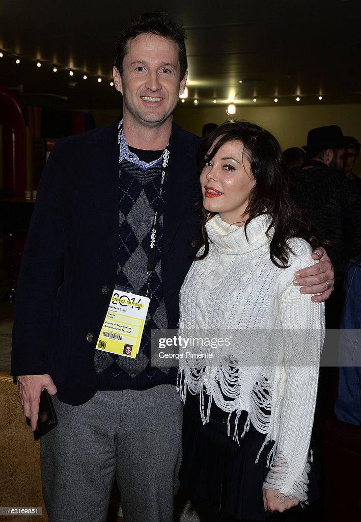 Sundance Film Festival Director of Programming <a gi-track='captionPersonalityLinkClicked' href=/galleries/search?phrase=Trevor+Groth&family=editorial&specificpeople=561179 ng-click='$event.stopPropagation()'>Trevor Groth</a> (L) and director <a gi-track='captionPersonalityLinkClicked' href=/galleries/search?phrase=Rose+McGowan&family=editorial&specificpeople=206451 ng-click='$event.stopPropagation()'>Rose McGowan</a> attend the premiere of 'The Dawn' at the Egyptian Theatre during the 2014 Sundance Film Festival on January 16, 2014 in Park City, Utah.