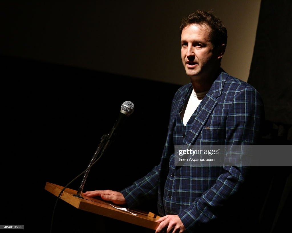 Sundance Film Festival Director of Programming Trevor Groth attends the 'Happy Christmas' premiere at Library Center Theater during the 2014 Sundance Film Festival on January 19, 2014 in Park City, Utah.