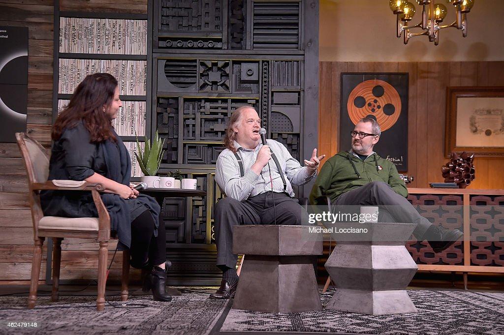 Sundance Film Festival Director Special Programs and Senior Programmer Caroline Libresco food critic Jonathan Gold and filmmaker Morgan Neville speak...