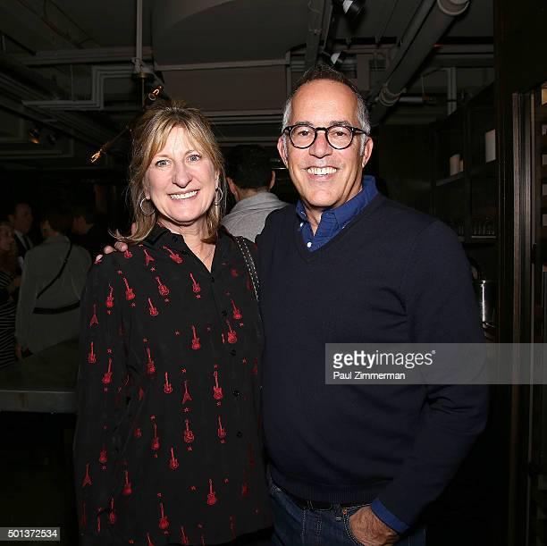 Sundance Institute Board of Trustees member Jeanne Donovan Fischer and Director of the Sundance Film Festival John Cooper attend Sundance Institute...