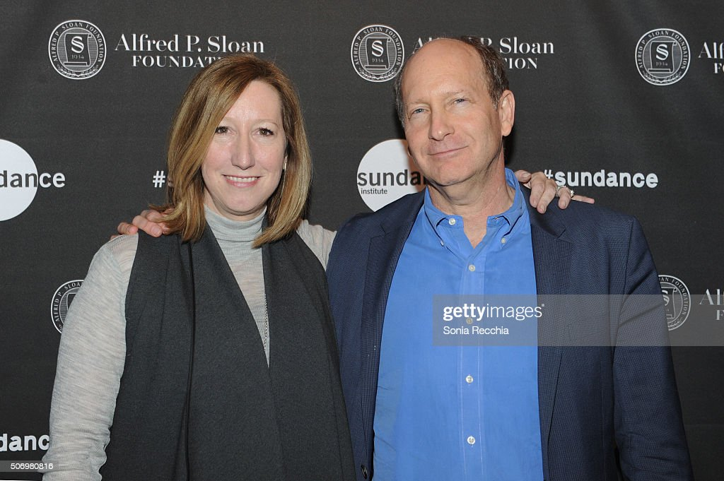 Sundance Institute Executive Director Keri Putnam and Doron Weber attend the Alfred P Sloan Foundation Reception and Prize Announcement during the...