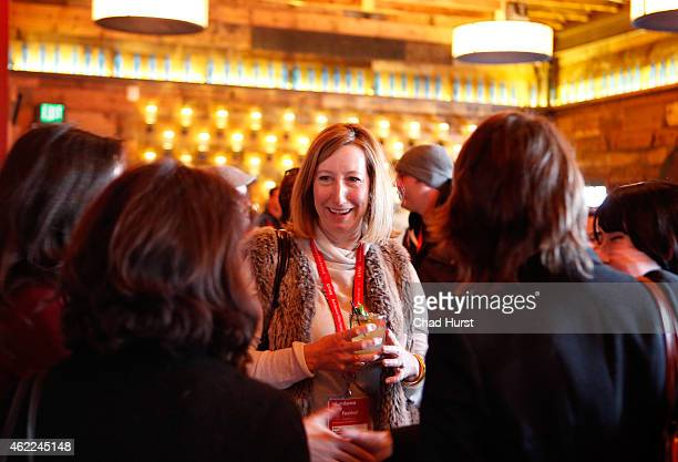 Sundance Institute Executive Director Keri Putnam attends the Catalyst Reception during the 2015 Sundance Film Festival on January 25 2015 in Park...