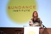 Sundance Institute Executive Director Keri Putnam speaks at the 2011 'Celebrate Sundance Institute' Los Angeles Benefit at Franklin Canyon Ranch on...