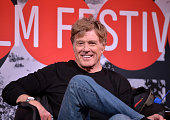 Sundance Institute President and Founder Robert Redford attends the Day One Press Conference at the Egyptian Theatre during the 2014 Sundance Film...