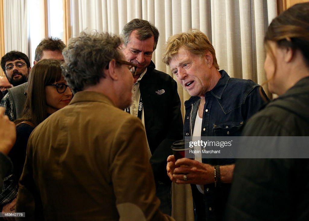 Sundance Institute President and Founder Robert Redford attends the Directors Brunch at Sundance Resort during the 2014 Sundance Film Festival on...