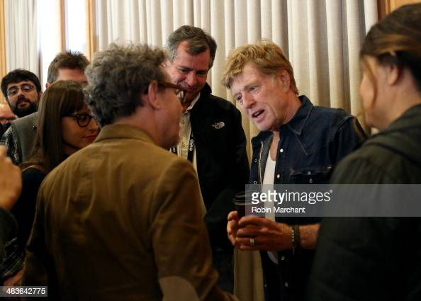 Sundance Institute President and Founder Robert Redford attends the Directors Brunch at Sundance Resort during the 2014 Sundance Film Festival on...
