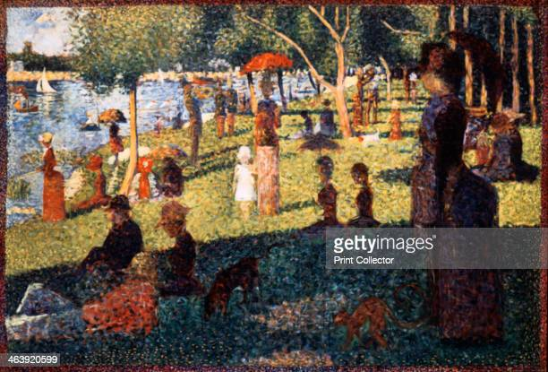 'A Sunday Afternoon on the Island of La Grande Jatte' 18841886 From the collection of the Art Institute of Chicago Illinois USA