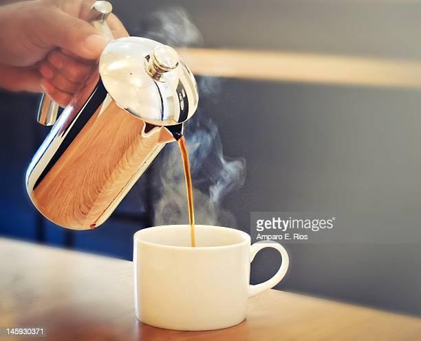 Sunday brunch coffee at Fundamental L.A.