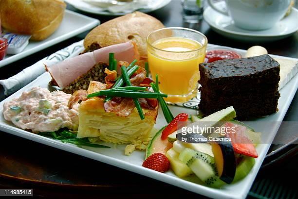 Sunday brunch plate