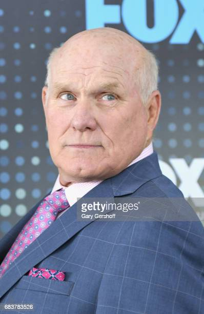 Sunday cohost Terry Bradshaw attends the FOX Upfront on May 15 2017 in New York City