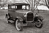 Sunday ride. 1929 Model A