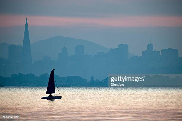 Sunday Sailors on Tranquil San Francisco Bay